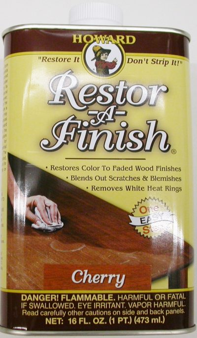 Howard restor a finish ebony brown